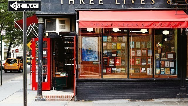 Fachada de Three lives and Company